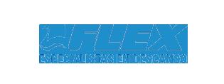 Logo flex azul